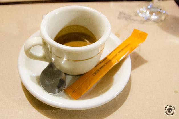 Café ristretto.