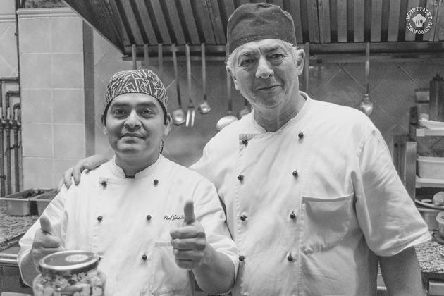 Cocineros.