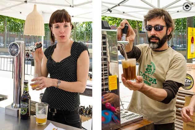 Montseny y Ausesken tirando birra y más birra!