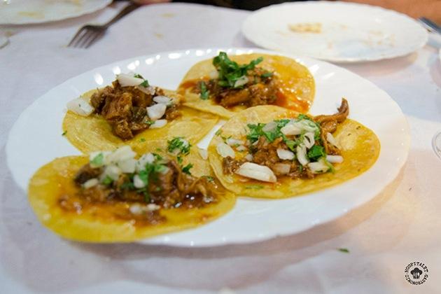 Tacos de Birria (cordero)
